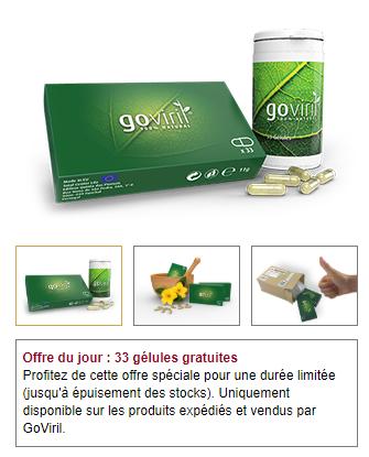 code coupon Goviril